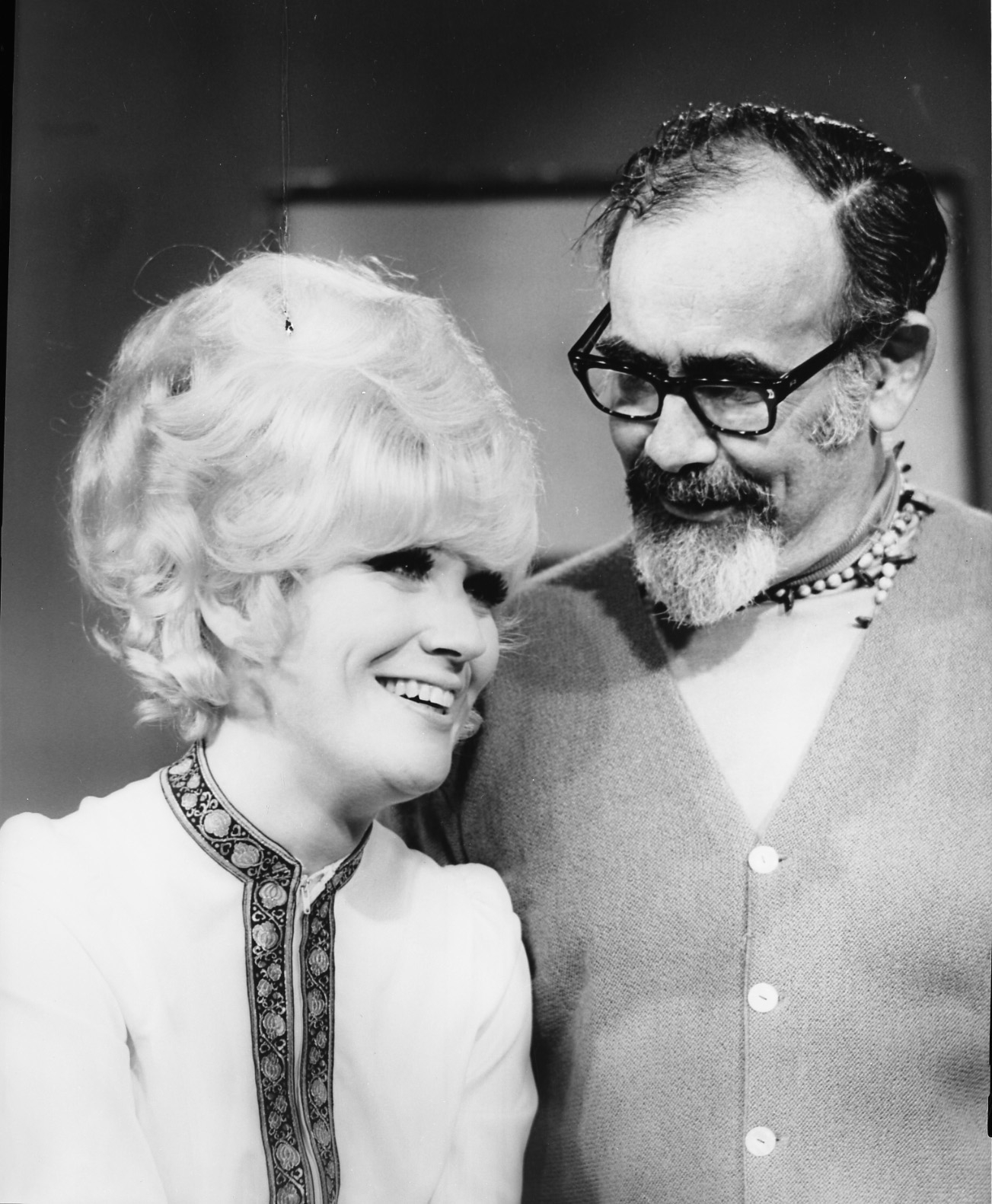 Jerry Wexler with Dusty Springfield, 1969